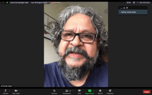 Amole Gupte at MISAMUN 2020