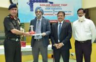 PFC's CMD dedicates solar rooftop system to ASHA School, Delhi Cantt run by Army Wives Welfare Association