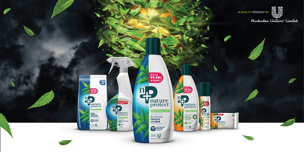 Hindustan Unilever Limited unleashes the superpower of nature through its new homecare brand, Nature Protect