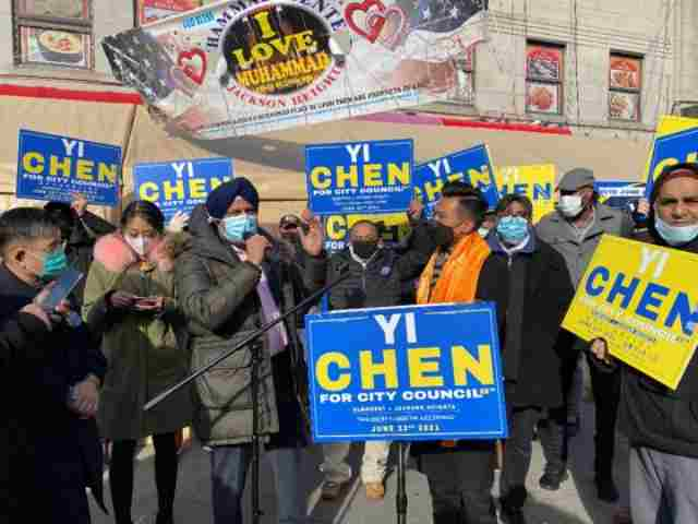 """Yi """"Andy"""" Chen announces his candidacy with the support of many community elected officials and community leaders"""