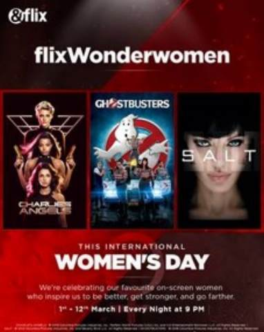 This International Women's Day, Treasure The Women In Your Life With A Special Week Of Bingeworthy Movies On &flix