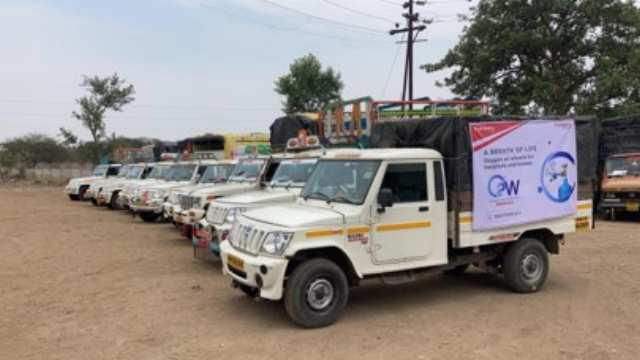 Mahindra steps in with 'Oxygen on Wheels' to ensure a swift supply of Oxygen in Mumbai, Thane, Pune, Pimpri-Chinchwad, Chakan, Nasik, and Nagpur