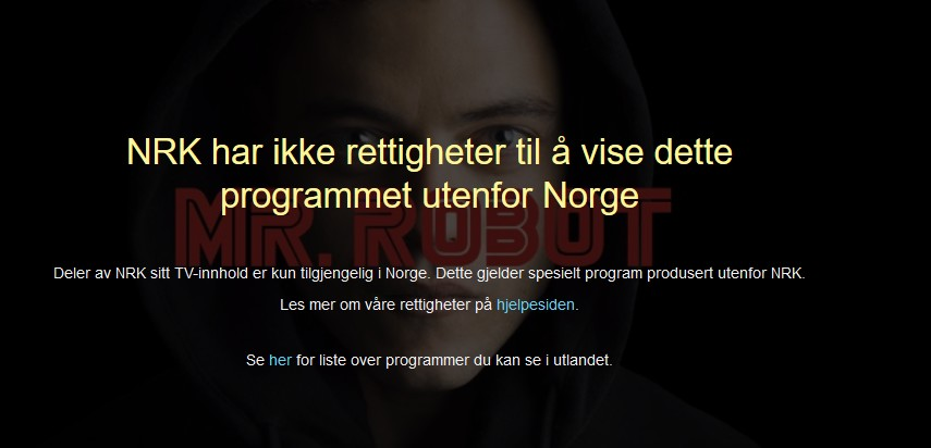 watch mr robot online on nrk