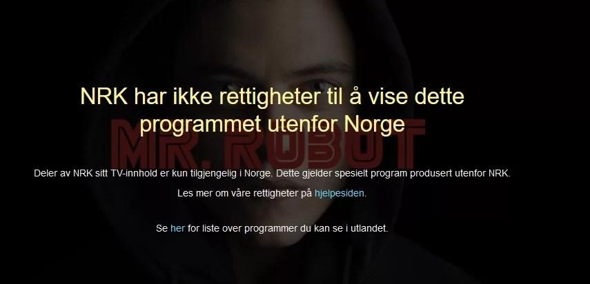 watch mr robot online on nrk