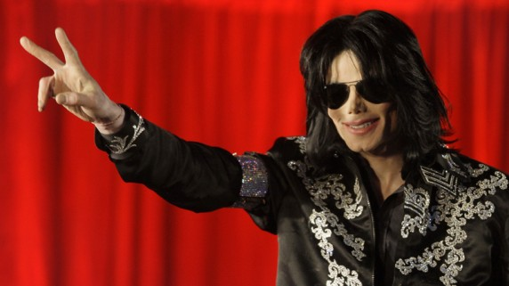 Gratulerer til vinnerne av Michael Jacksons backkatalog! (Foto: AP Photo / Joel Ryan).