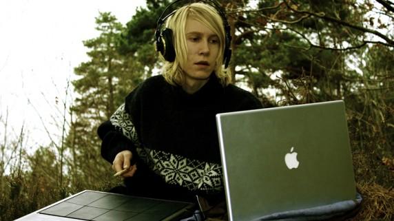 17åringen Mathias Stubø en mannen bak Proviant Audio. (Foto: Markus Andersson)