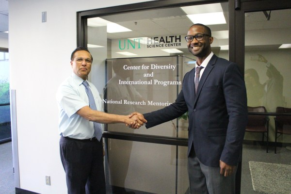 Dr. Lee Gibbs Earning Ph. Unthsc And