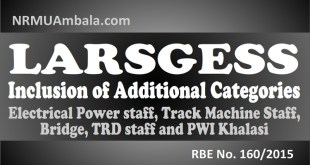 LARSGESS RBE 160-2015