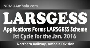LARSGESS Scheme 2016 Ambala Division