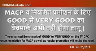 RBE 20-2017 MACP benchmark
