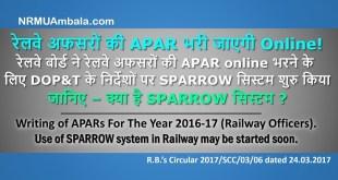 Online APAR JAG SPARROW System