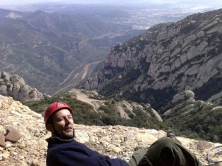 View from the 2nd belay, La Momieta