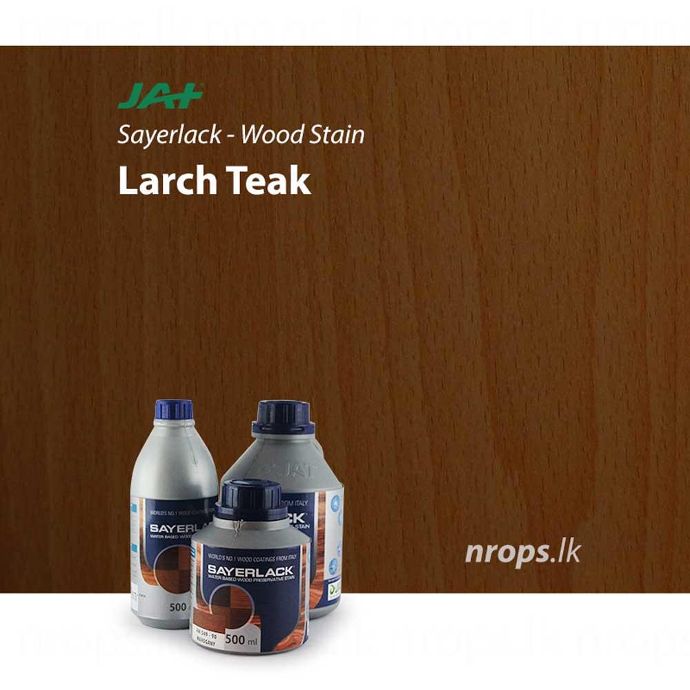 Jat Sayerlack Wood Stain Larch Teak Nrops Lk