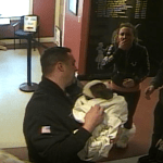 North Reading First Responders Save Choking Puppy