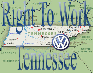 Right To Work Tennessee - Volkswagen