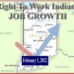rtw INdiana Job Growth