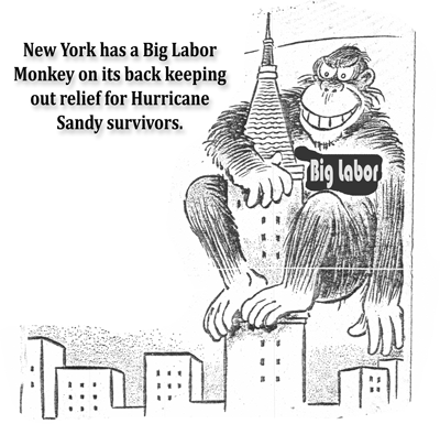 Forced Unionism Demands Hamper New York Clean Up