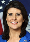 Governor Nikki Haley (R-SC)