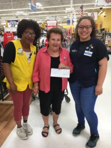 Penny Sweet receives $250.00 grant from Walmart in Fairlawn
