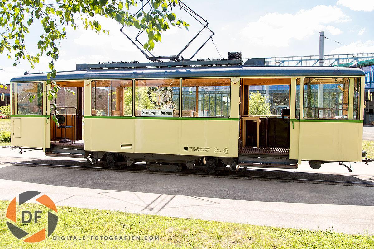 Heiraten in der Historische Straenbahn Bochum