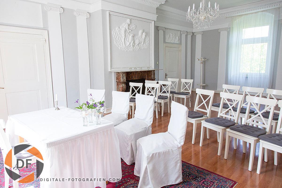 Heiraten im Schloss Steinhausen in Witten  Standesamt NRW