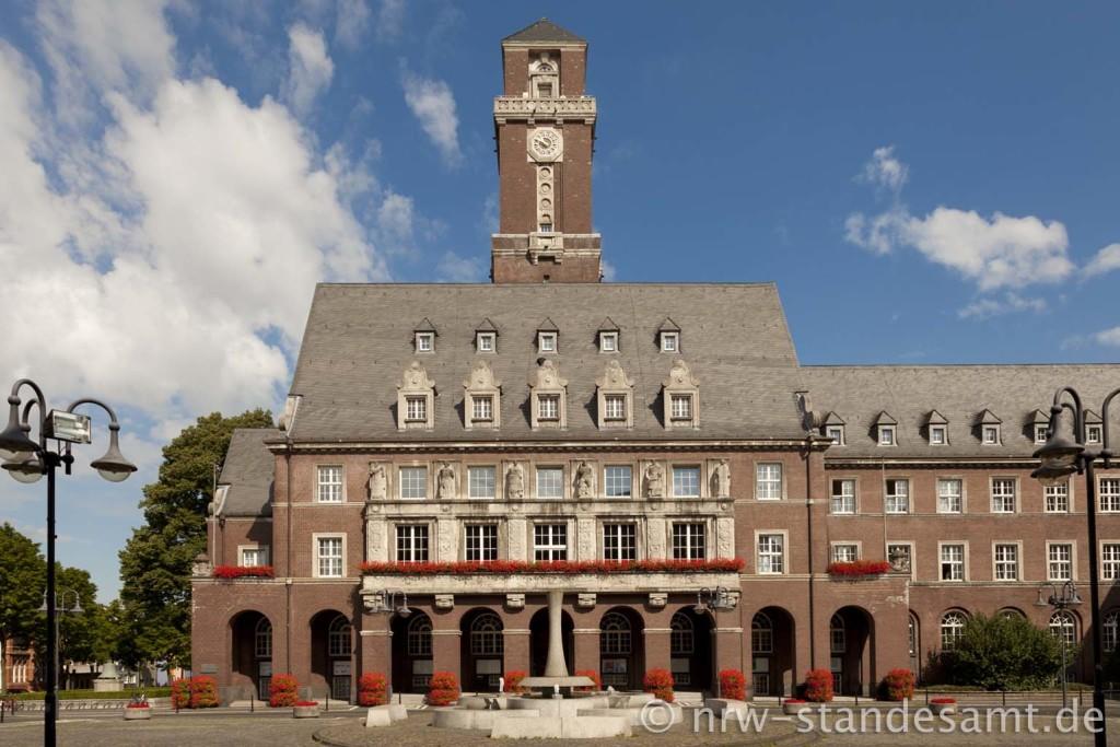 Heiraten im Standesamt Bottrop Rathaus  Standesamt NRW