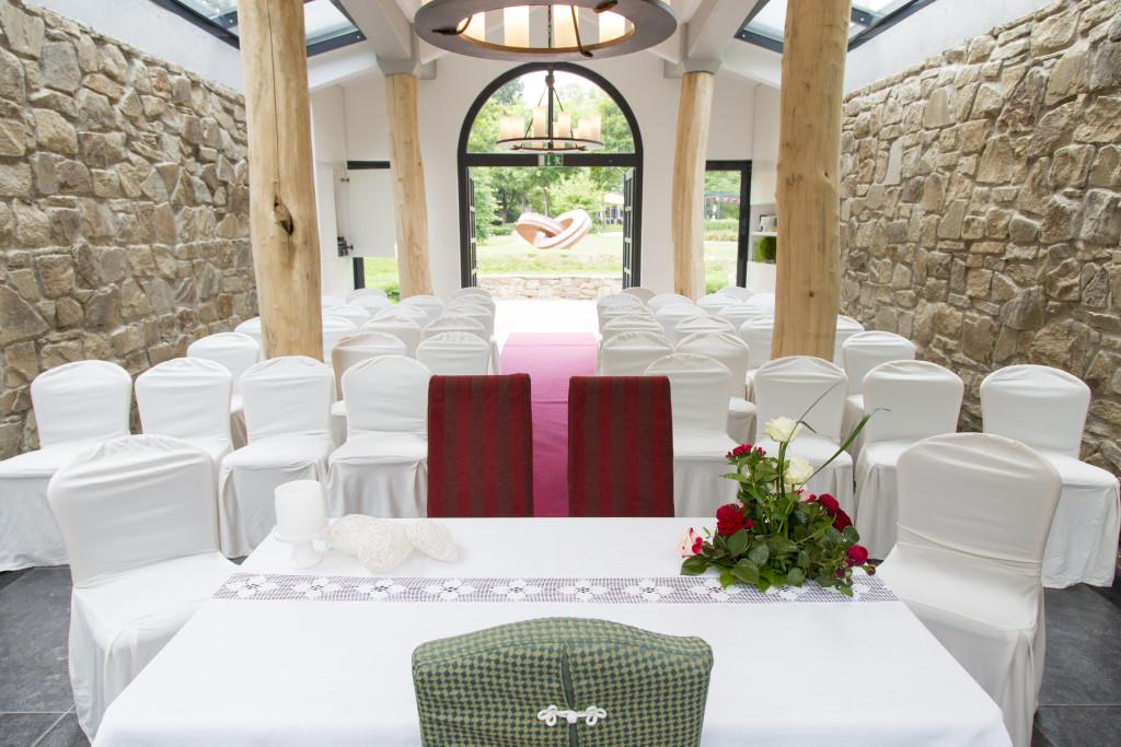 Heiraten im Standesamt im Landhotel Voshvel in Schermbeck