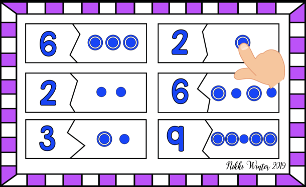 Touch Math Touch Point Puzzles (Autism / SPED) | Winters