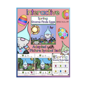 Spring Gnome Interactive Adapted Book (Autism/SPED)