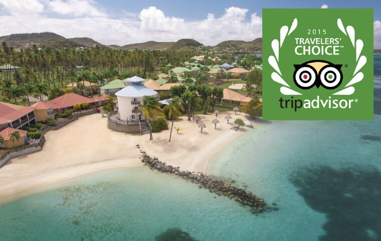 26 Resorts have been awarded with the TripAdvisor's 2015 Traveler's Choice Award.