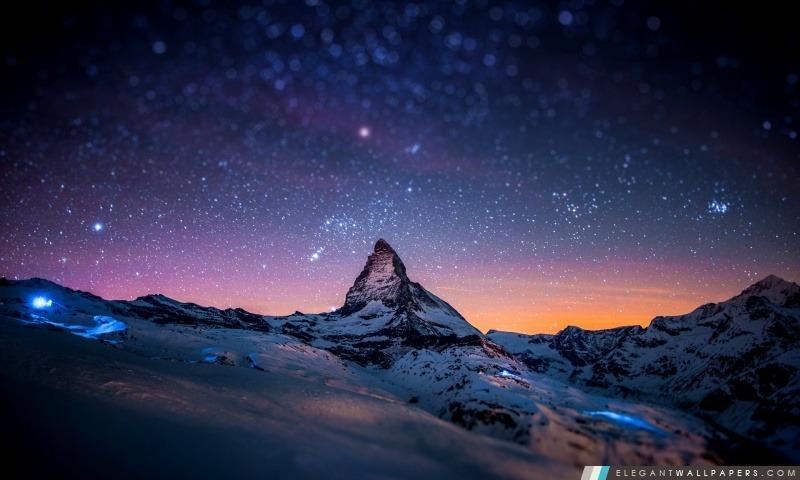 Wallpaper Desktop 3d Animation Cervin Night Sky Fond D 233 Cran Hd 224 T 233 L 233 Charger Elegant