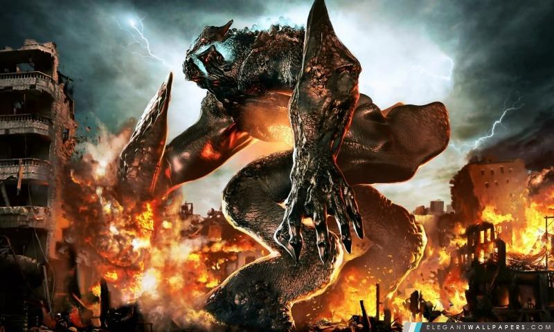 Wallpaper Monster Inc 3d Pacific Rim Monstre Kaiju Fond D 233 Cran Hd 224 T 233 L 233 Charger