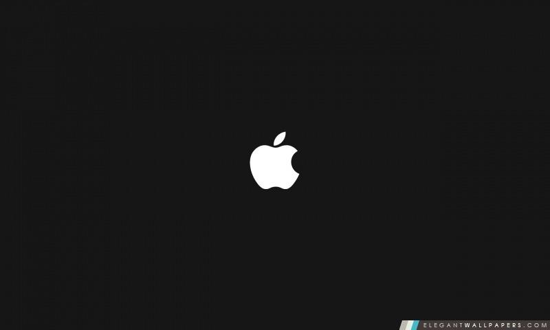 apple sur fond noir fond d ecran hd a