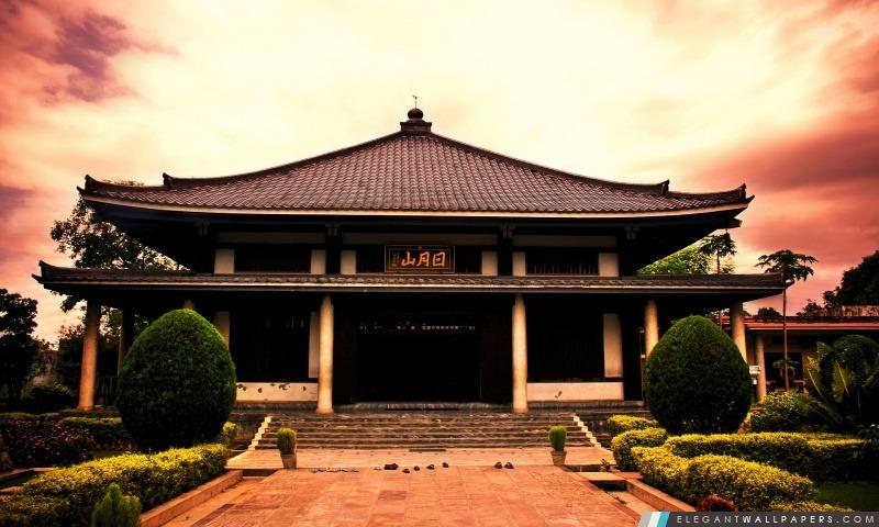 Animation Hd Wallpapers 1080p Temple Asiatique Fond D 233 Cran Hd 224 T 233 L 233 Charger Elegant