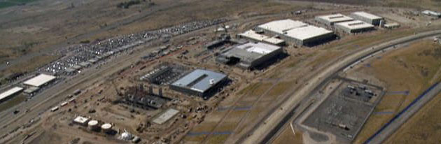 NSA Utah Data Center under construction 2013