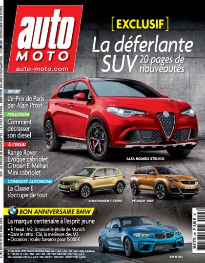 Auto Moto N°243 - Avril 2016