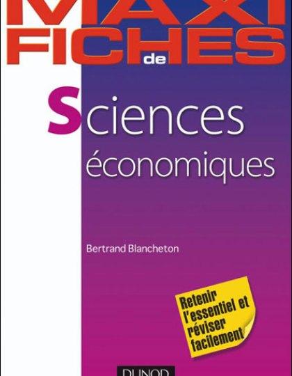 Maxi fiches de Sciences économiques