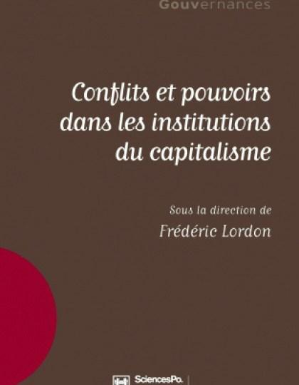 Conflits et pouvoirs dans les institutions du capitalisme