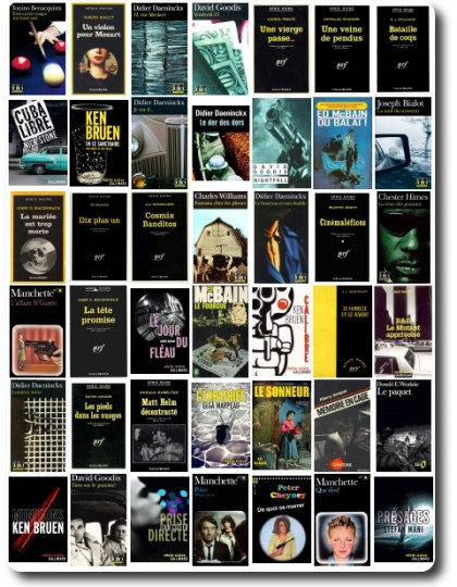 Serie Noire Gallimard Pack No 8