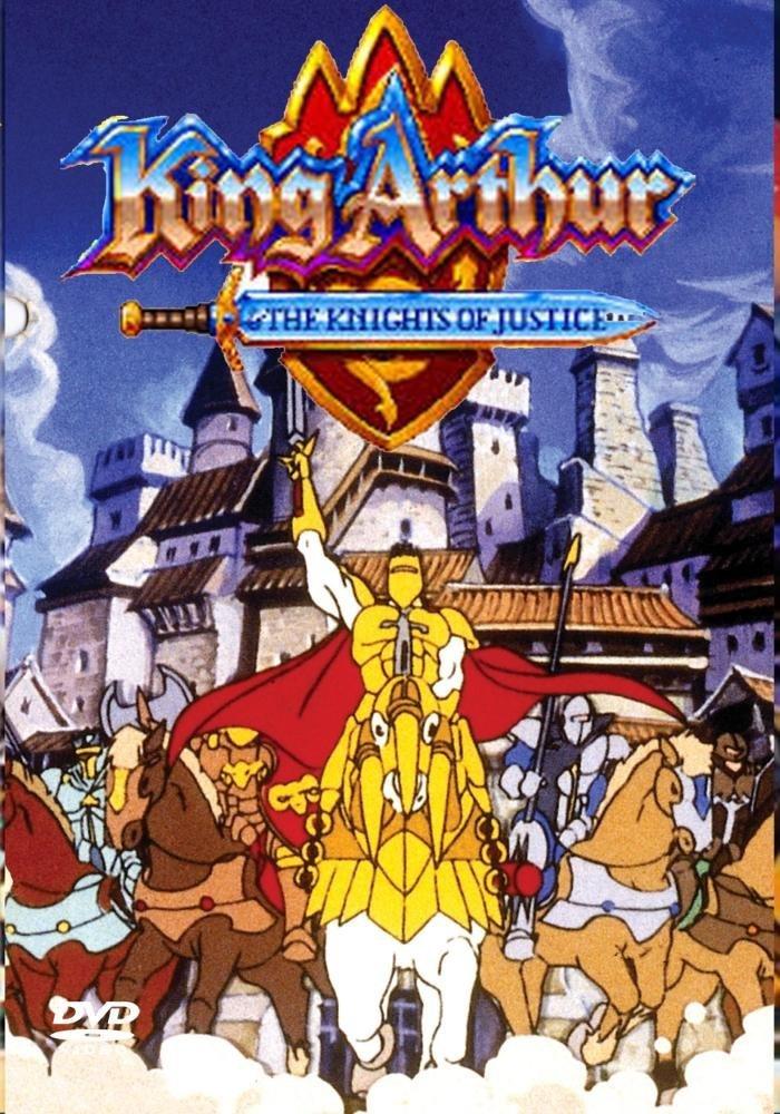 Le Roi Arthur Et Les Chevaliers De Justice : arthur, chevaliers, justice, Arthur, Chevaliers, Justice, (série, Animée), Ailes, Immortelles