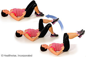 Lower abdominal strengthening