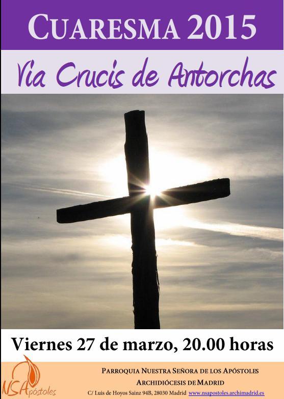 Cartel Via Crucis 2015