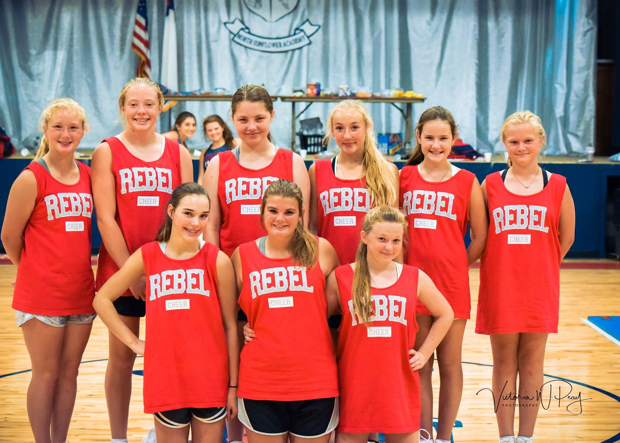 2018 JV Cheer Team