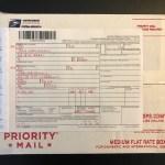 アメリカから日本へ 小包発送方法