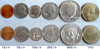 アメリカのお金の数え方(見方)・読み方