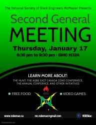 Copy of Town Hall Meeting Flyer Made with PosterMyWall NSBE McMaster