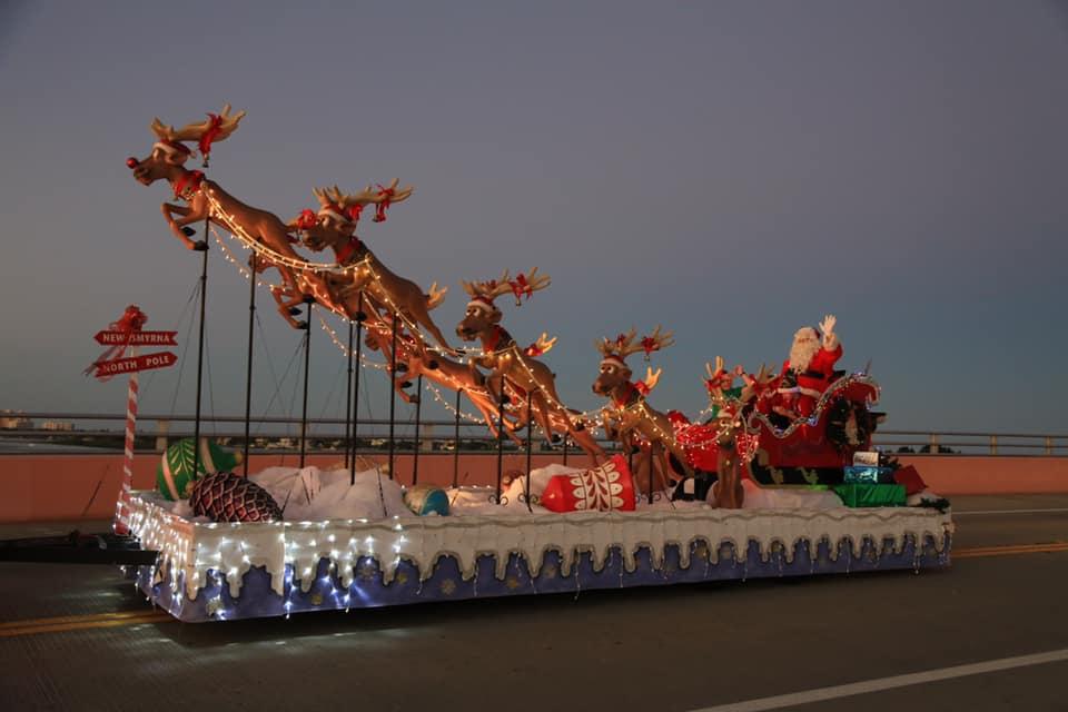 New Smyrna Christmas Boat Parade 2021 Nsb Christmas Parade Nsb Guide