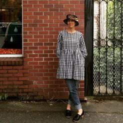 NSB - MMMay16 day 31 Izzie Lewis straw hat