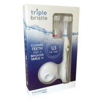 The Triple Bristle- Cleans Like No Other Brush! #Health #Dental #Hygiene