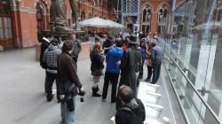 London St Pancras 3DS StreetPass Event with Yoshinori Ono (11)